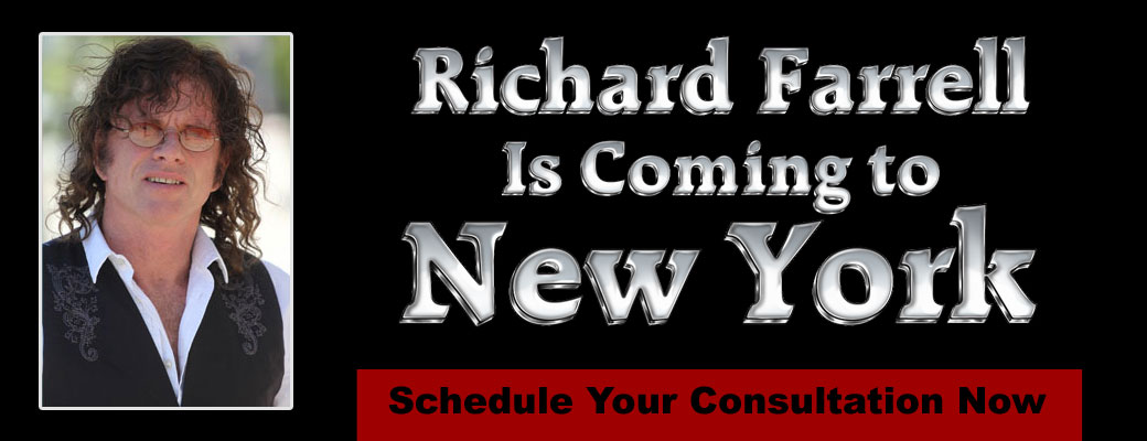 Richard Farrell is Coming to New York June 17, 18 and 19